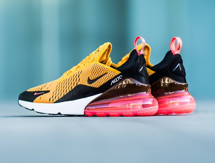 Restock Nike Air Max 270 University Gold Sneaker Shouts