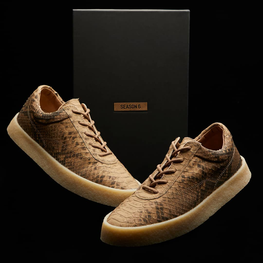 Yeezy Season 6 Crepe Sneaker \