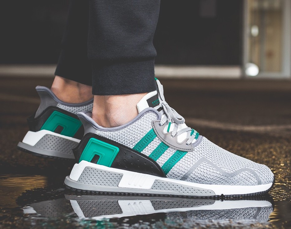 adidas eqt gray and green