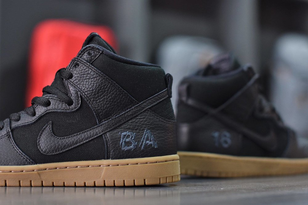 Now Available: Brian Anderson x Nike SB Dunk High Pro