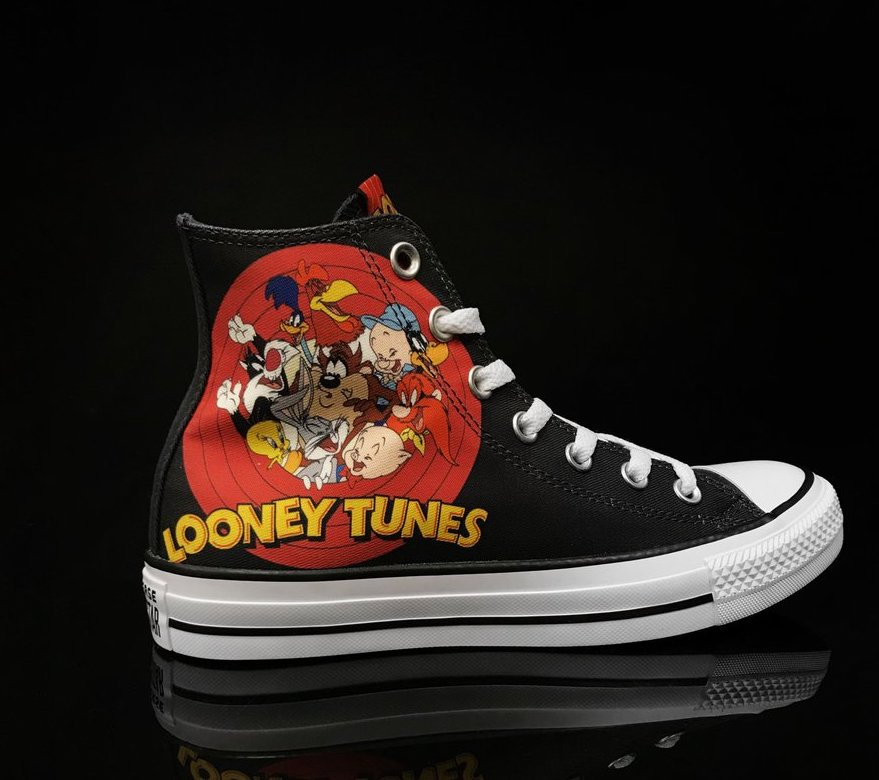 96dbd53502949 Now Available: Looney Tunes x Converse Chuck Taylor All Star Hi ...