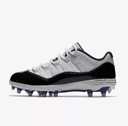 84b222be804d39 Now Available  Air Jordan XI Retro Low Football Cleats — Sneaker Shouts