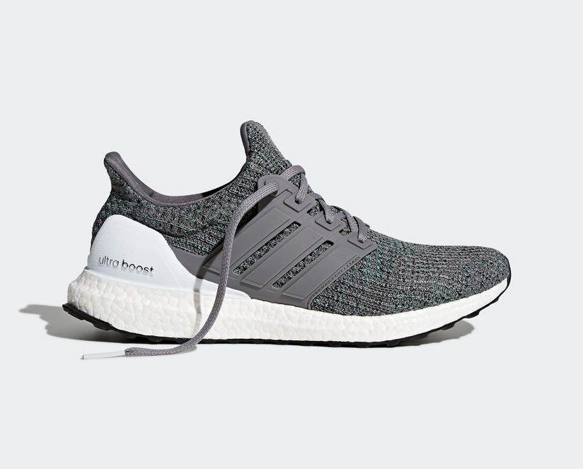 adidas ultra boost grey mint