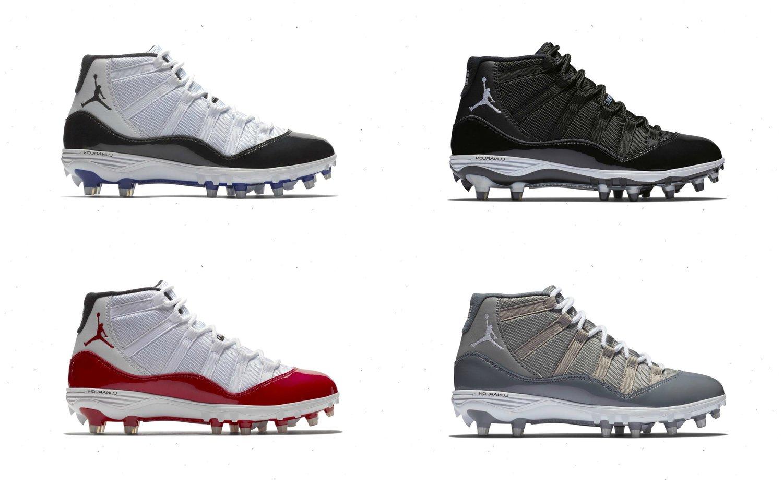 buy online 1d20c 7bb3a Restock: Air Jordan 11 Retro TD Football Cleats — Sneaker Shouts