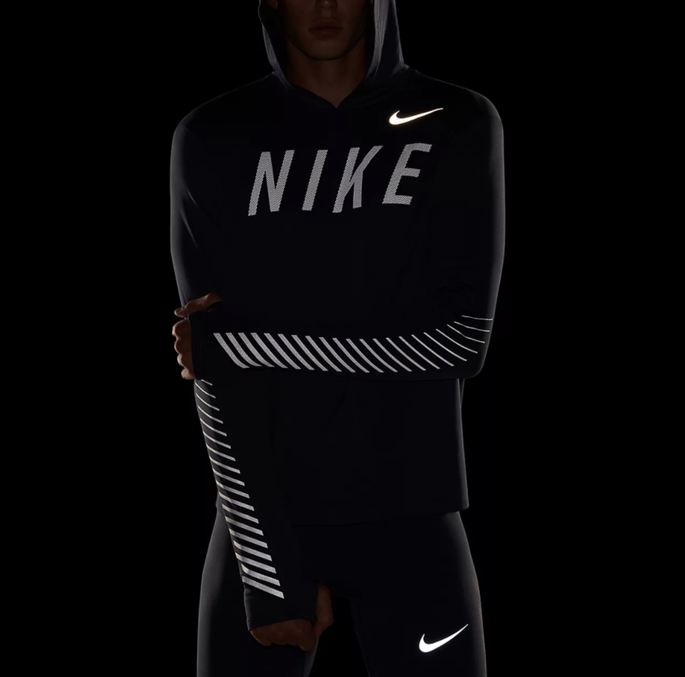 c1e09168c7b 50% OFF the Nike Dri-Fit Reflective Hoodie in