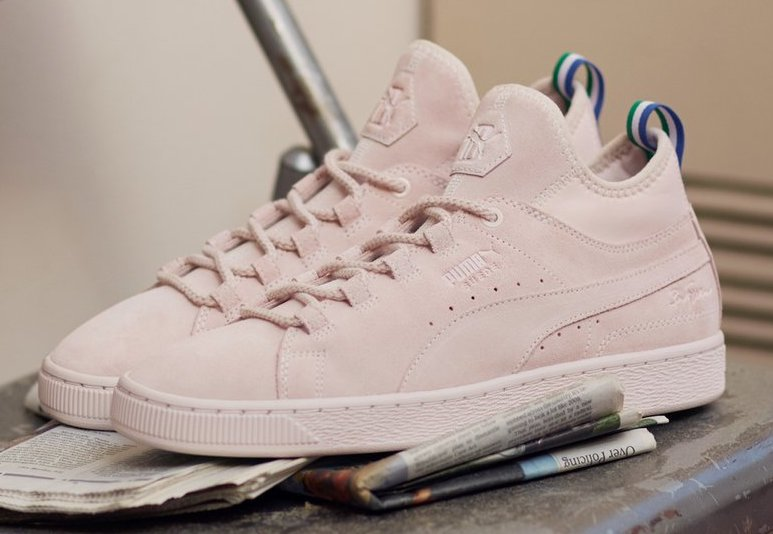 Now Available: Big Sean x Puma Suede
