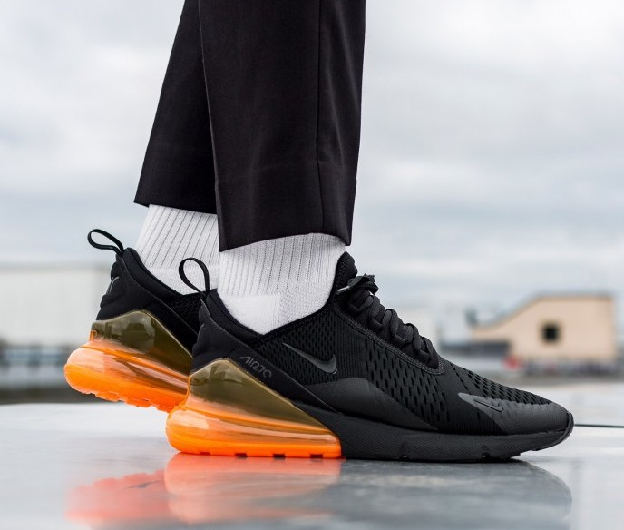 air max 270 total orange black
