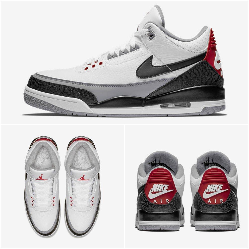 0cae9c94b212af Now Available  Air Jordan 3 Retro