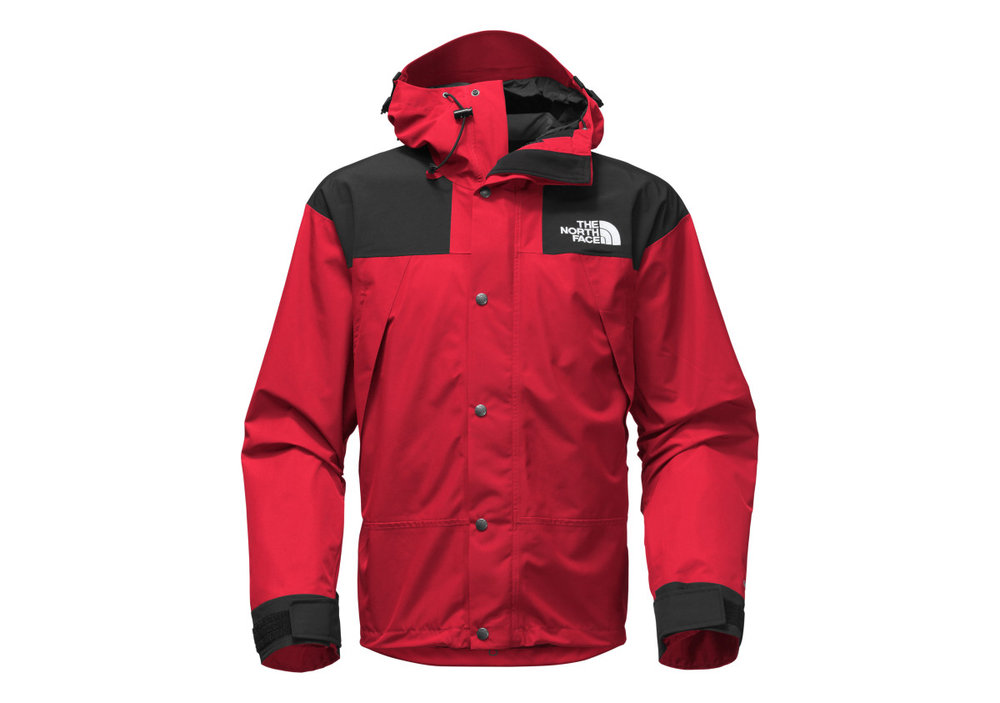 Restock The North Face 1990 Mountain Gtx Jacket Red Black