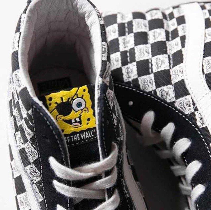 vans x spongebob sk8 hi
