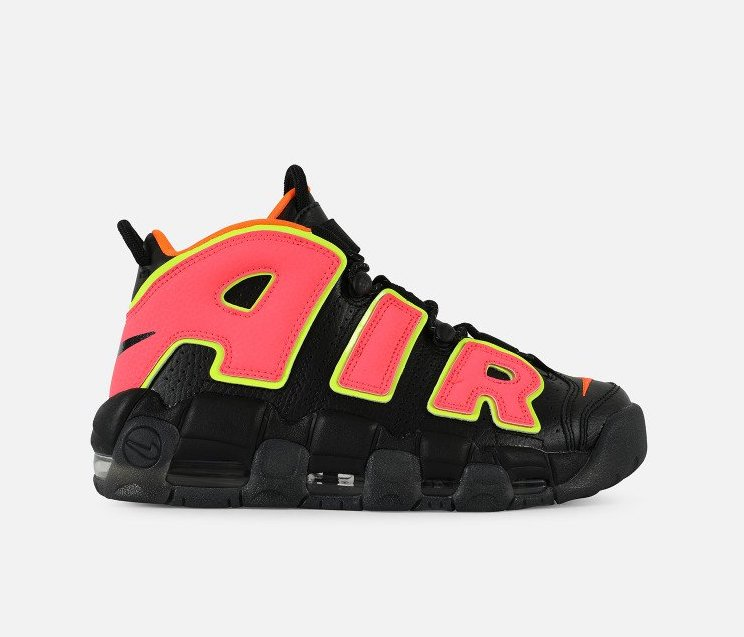 ... reduced on sale womens nike air more uptempo hot punch u2014 sneaker  shouts fd409 1db76 ... 30b3e8626