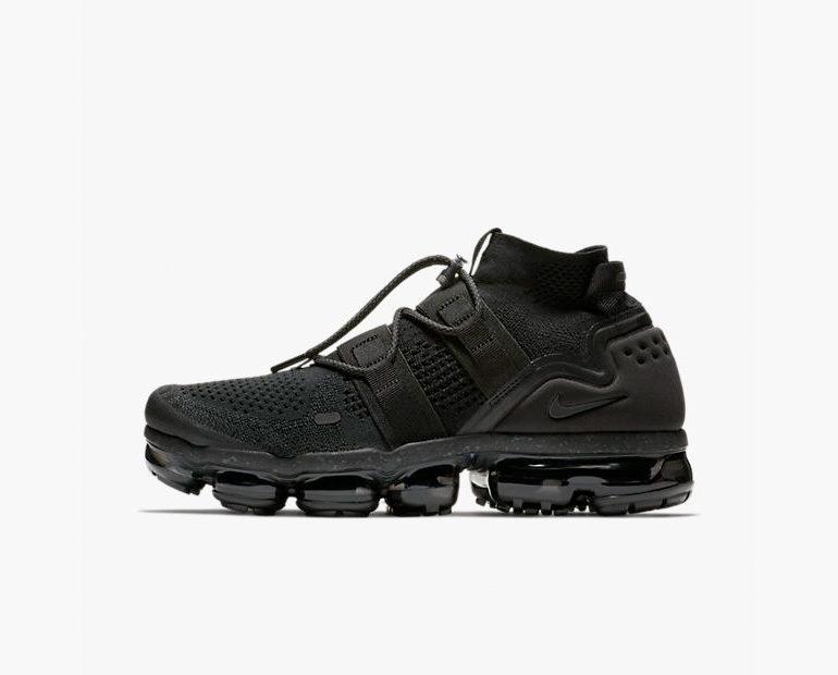 coût pas cher vue vente Nike Vapormax Flyknit Triples Roues De Réapprovisionner Noir gros pas cher vente profiter réel à vendre 19nCWPfp