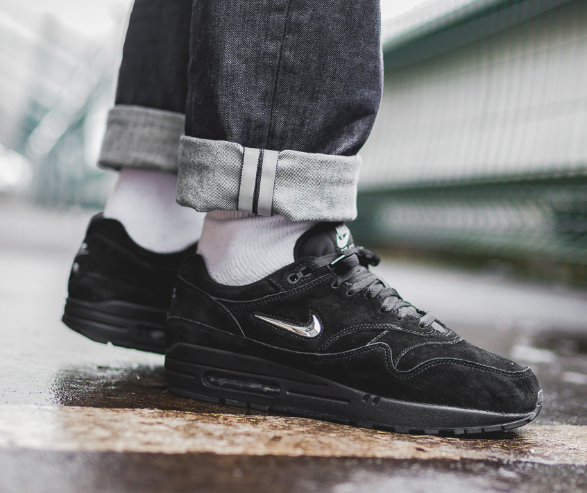 competitive price 93ce9 ff7ab On Sale  Nike Air Max 1 Premium Jewel