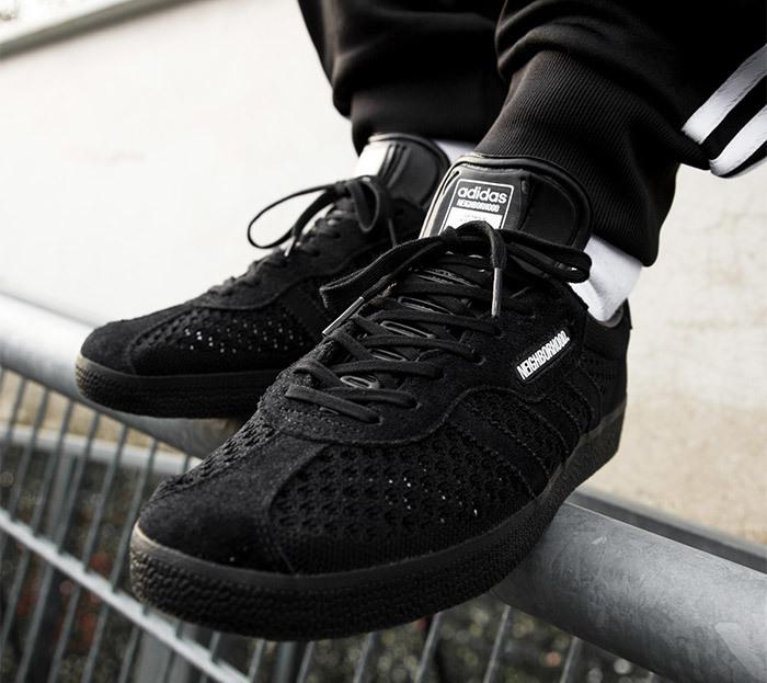 dbedcb23f0e5 On Sale  Neighborhood x adidas Gazelle Super — Sneaker Shouts