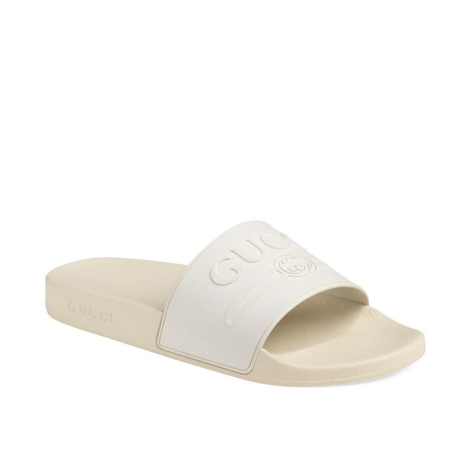 9276faff37a2 Now Available  Gucci Pursuit Sport Slides — Sneaker Shouts