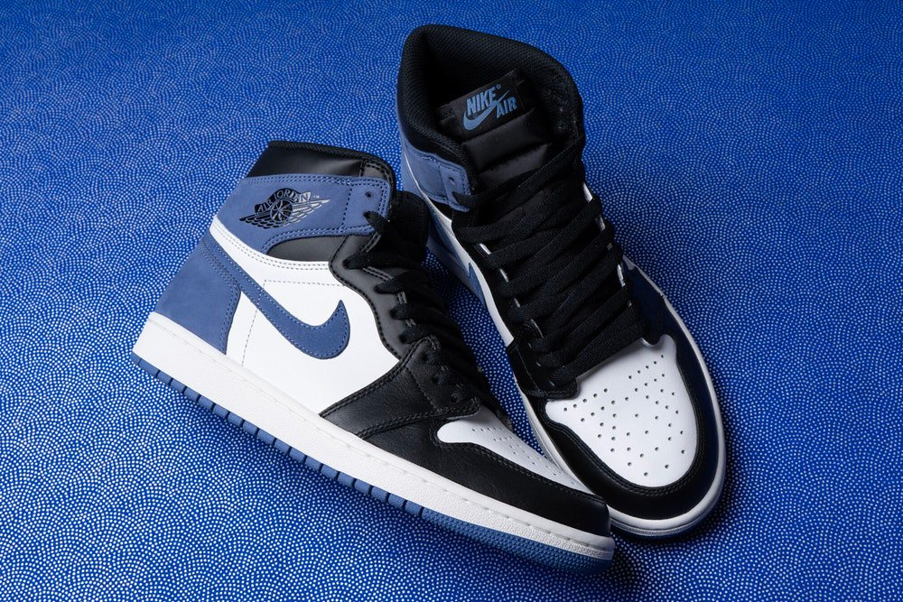 Restock Air Jordan 1 High Retro Og Blue Moon Sneaker Shouts