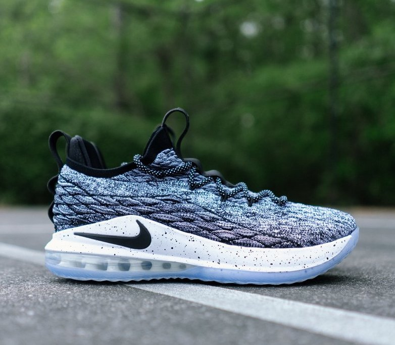 low priced bd09b 0764d Now Available: Nike LeBron 15 Low