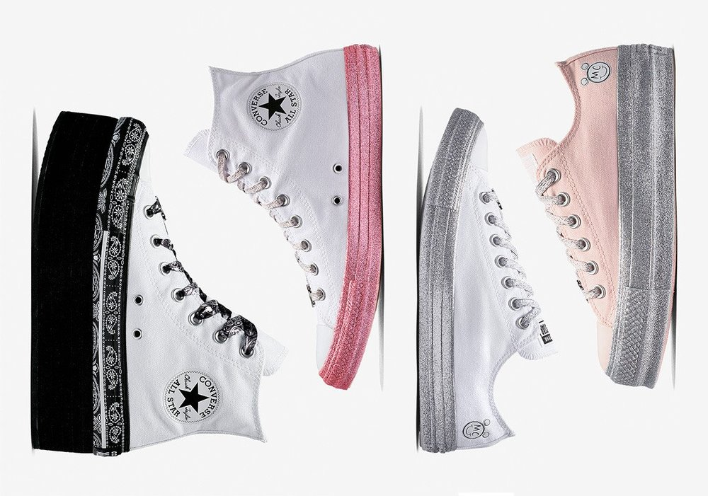 4f3cec7446 Now Available: Miley Cyrus x Converse Collection — Sneaker Shouts