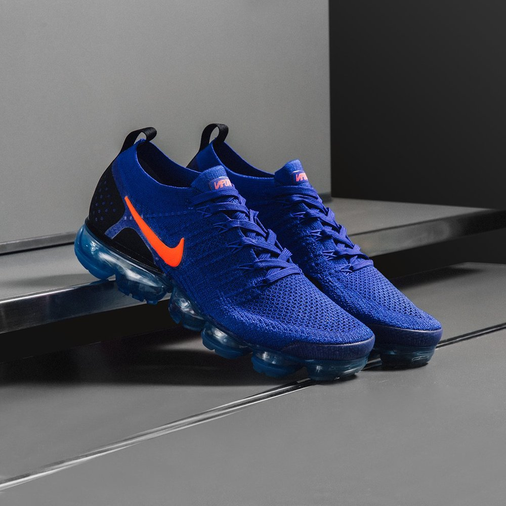 detailing f9f6e f9ade nike air vapormax flyknit 2 blue