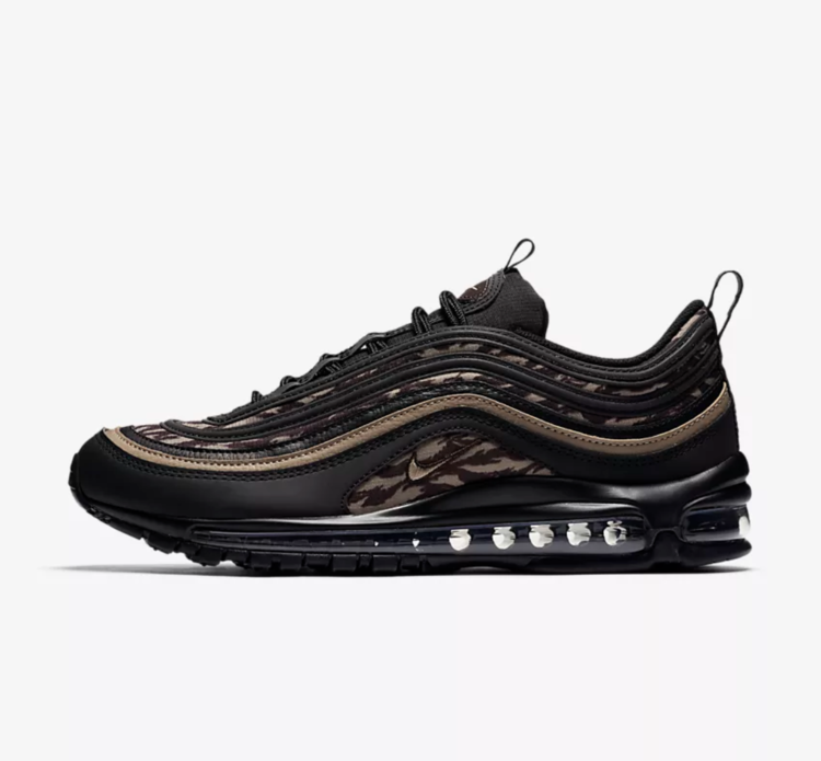c88a93c40c1ee Now Available: Nike Air Max 97 Tiger Camo
