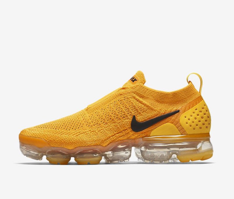 restock women s nike air vapormax moc 2 university gold sneaker
