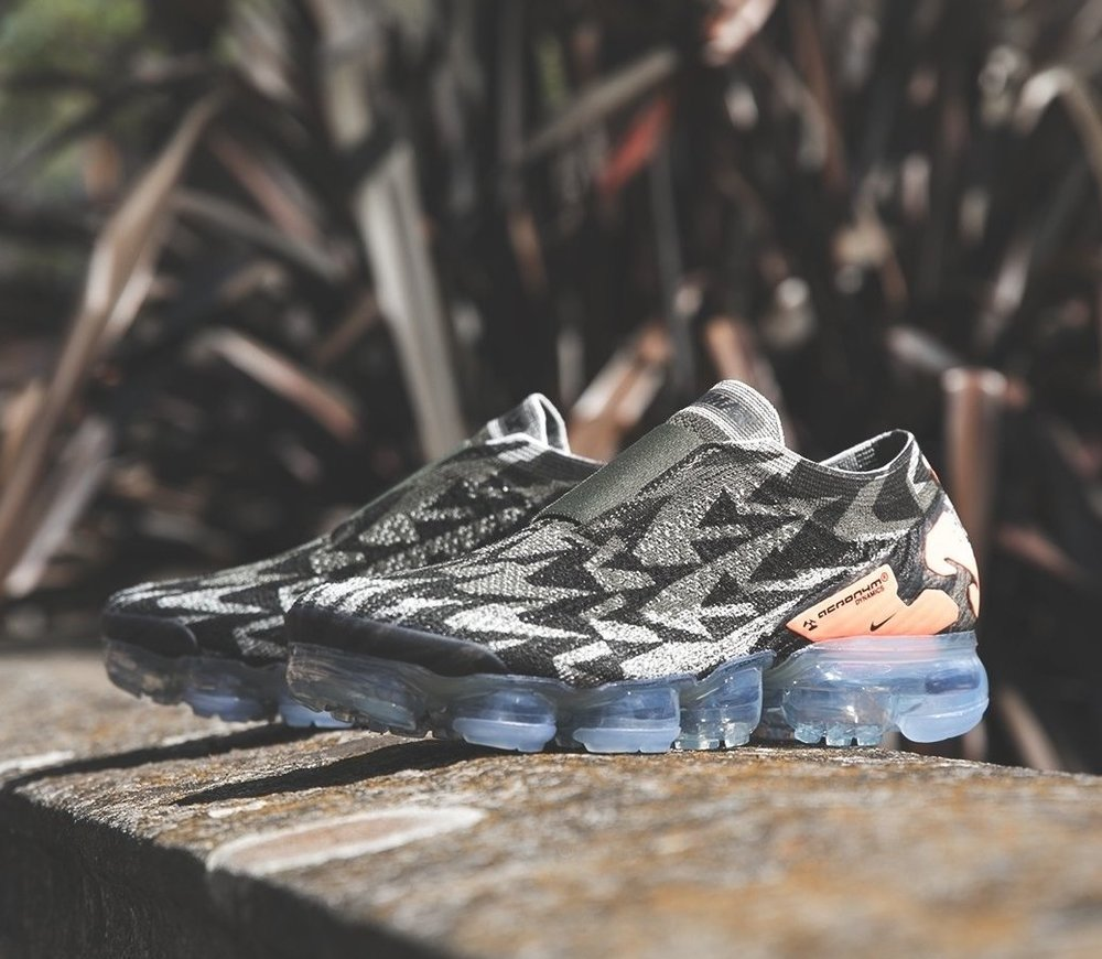 save off 2583b 8799b Now Available Acronym x Nike Air VaporMax Moc 2