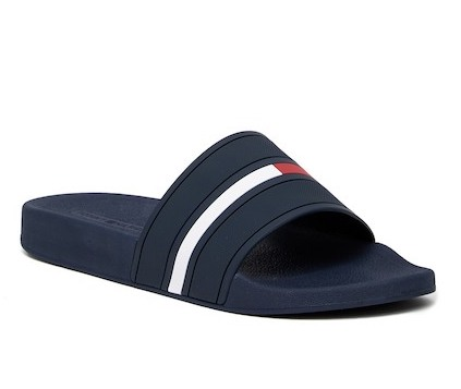 9d41baac44f3b On Sale  Tommy Hilfiger Ennis Logo Slides