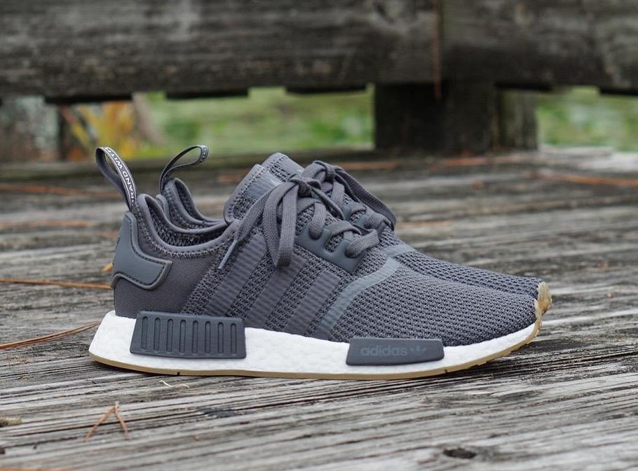 adidas nmd r1 grey five The Adidas