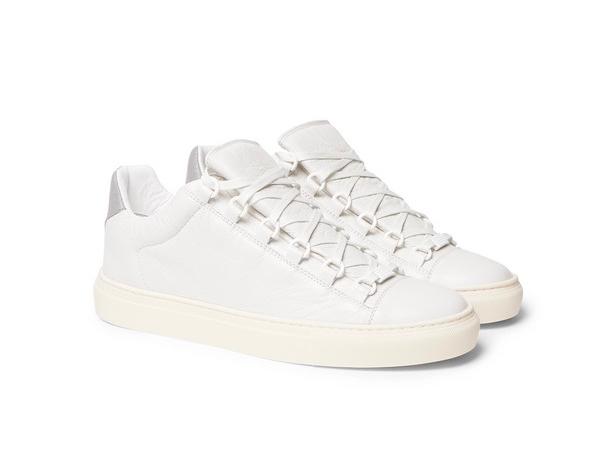3c3e2e163a154 On Sale: Balenciaga Arena Leather Low