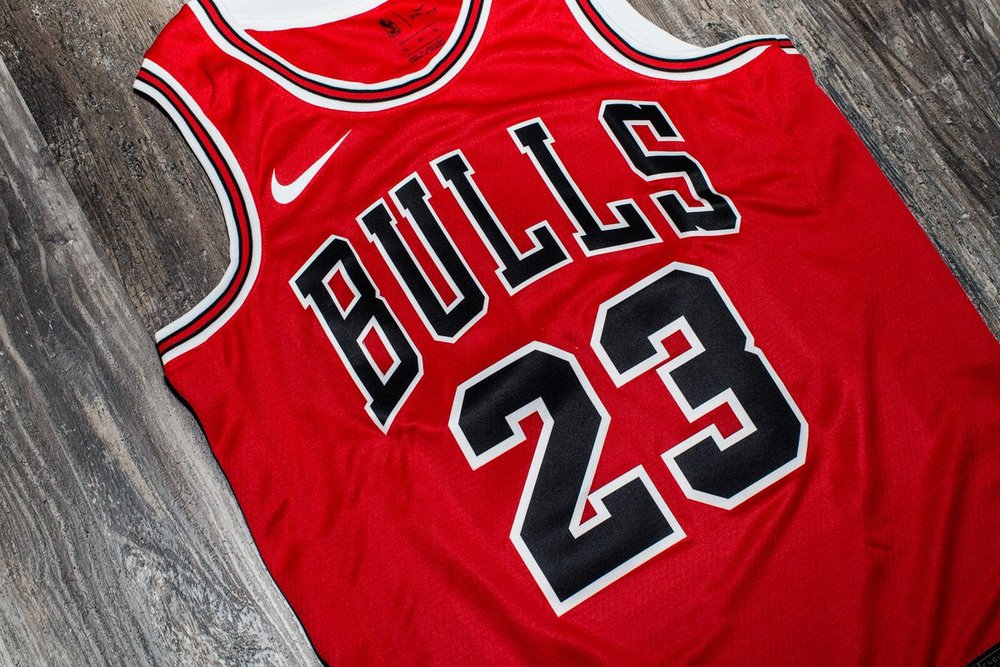 On Sale  Nike NBA Michael Jordan Swingman Jersey — Sneaker Shouts fa8a409c5