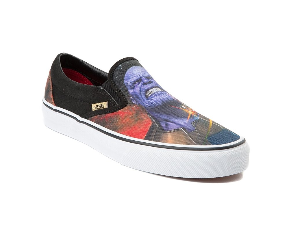 cb8673c287d2 Now Available  Marvel x Vans Slip On