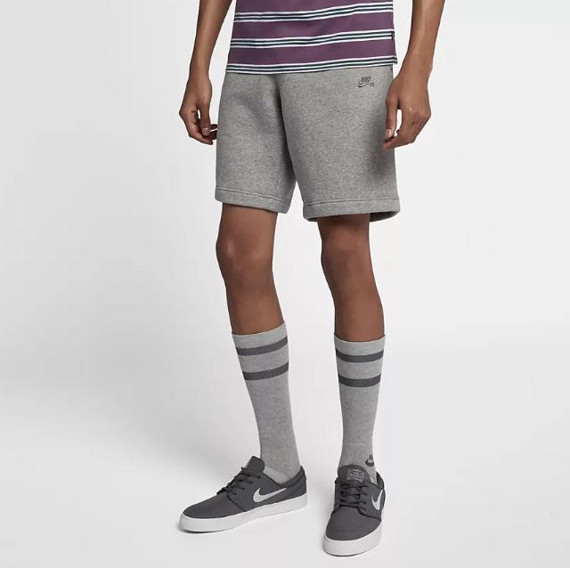49ed0a707e09 On Sale  Nike SB Icon Fleece Shorts — Sneaker Shouts