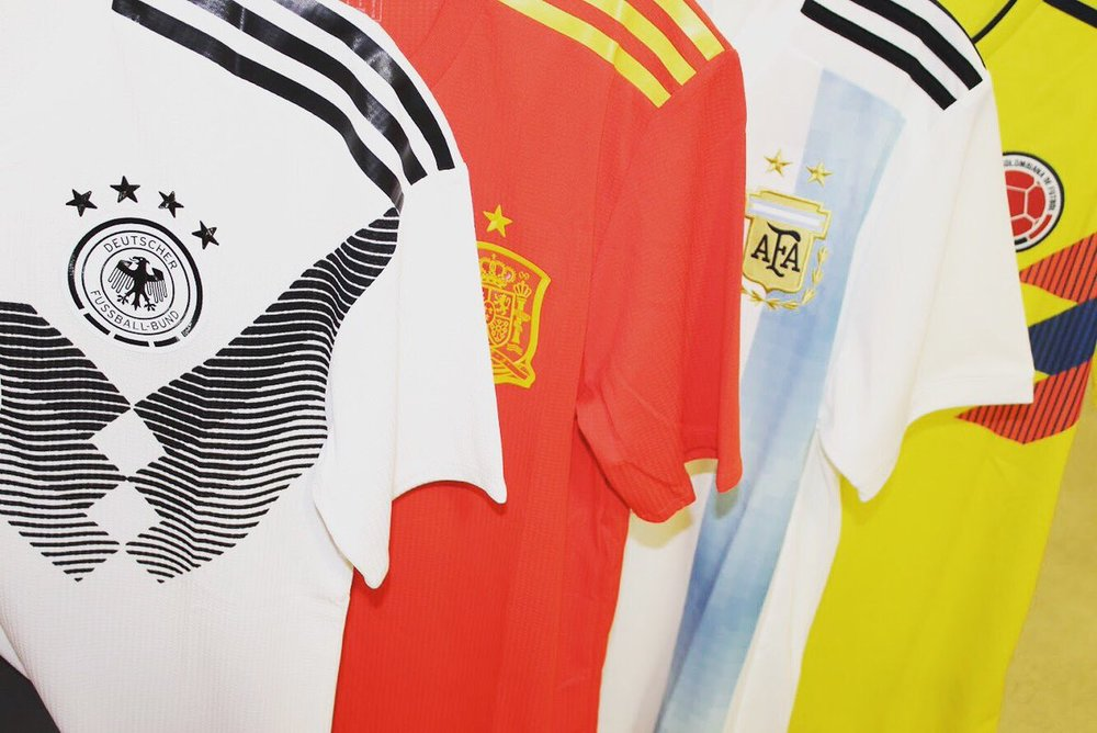 2c309e947 On Sale: FIFA 2018 adidas World Cup Jerseys — Sneaker Shouts