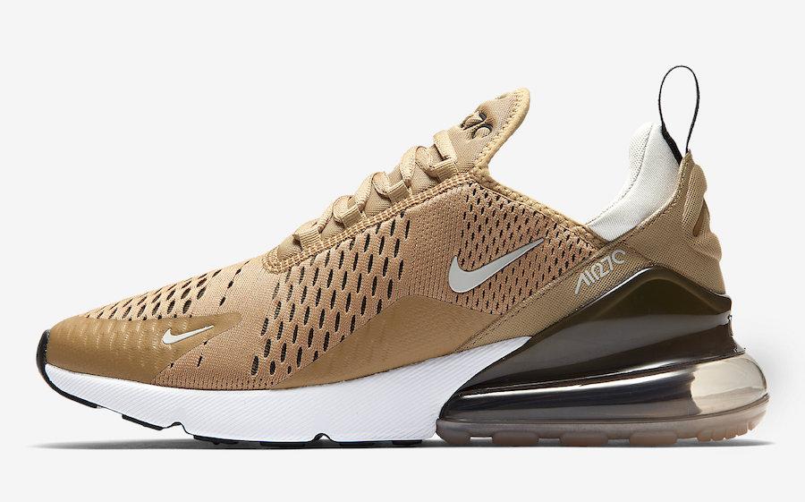 air max 270 gold