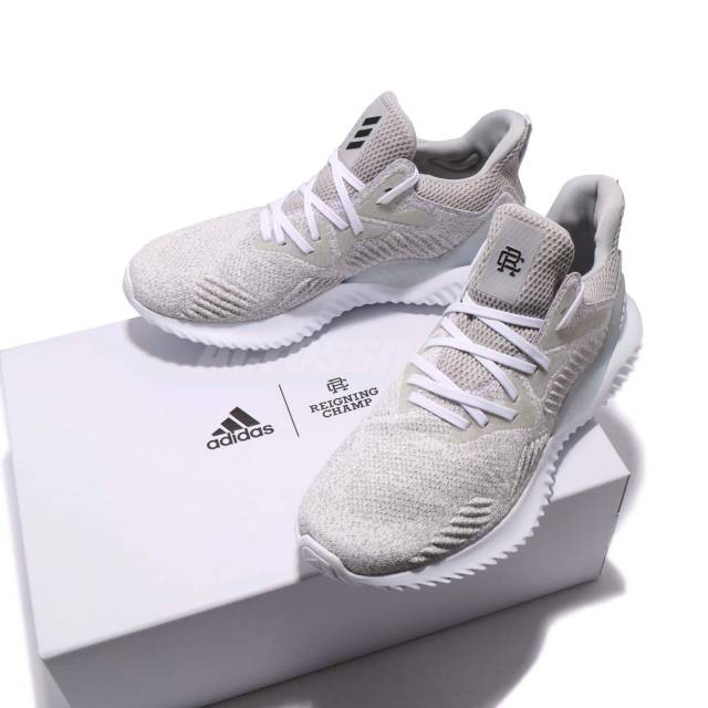 brand new 57c0e f535b On Sale Reigning Champ x adidas AlphaBounce