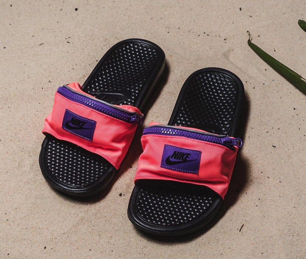 08c41adf2b0e51 On Sale  Nike Benassi Fanny Pack Slides