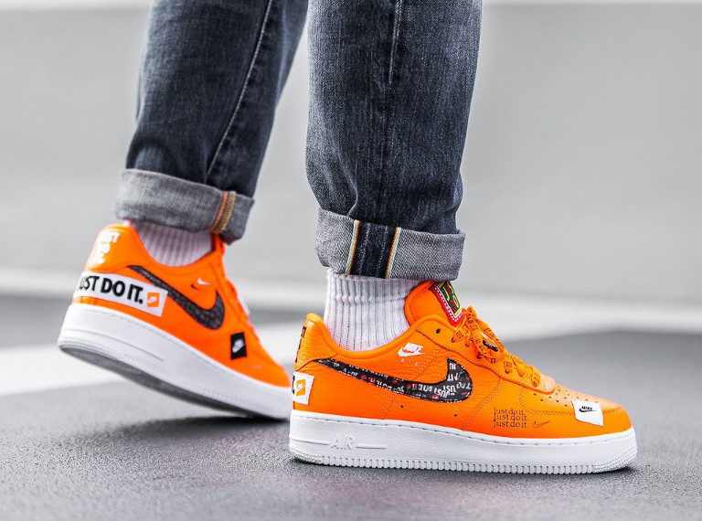 online store 7c589 4a492 Restock  Nike Air Force 1 Low Just Do It