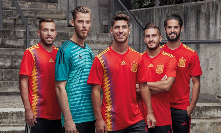 ba66a6c3c Flash Sale  30% OFF 2018 adidas Spain World Cup Jerseys   Apparel — Sneaker  Shouts