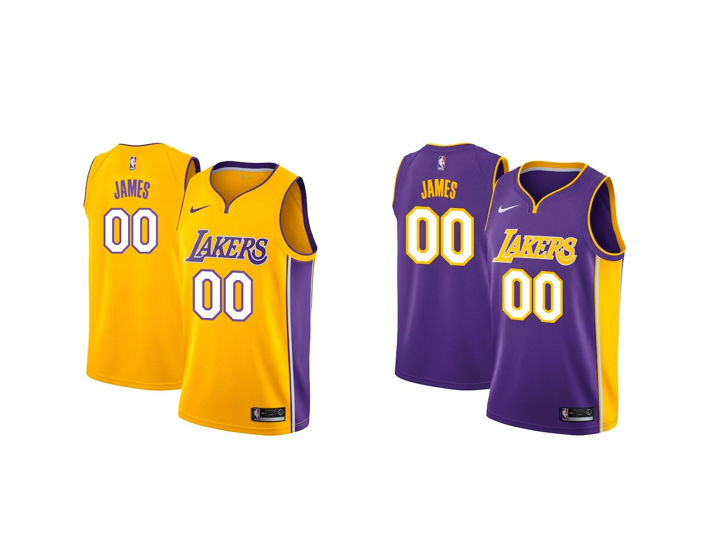 finest selection 9266a ce3dd Now Available: Nike Los Angeles Lakers