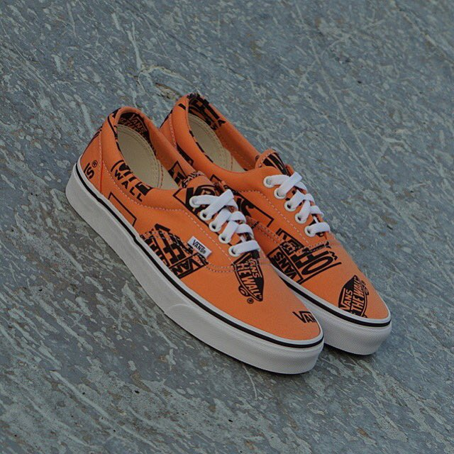 Now Available  Vans Era Logo Mix