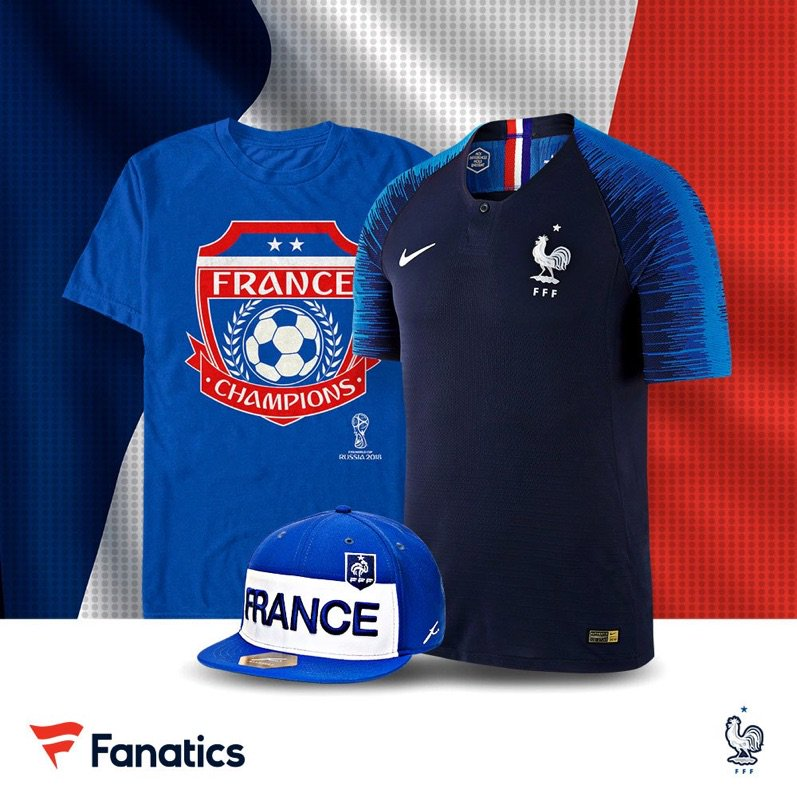 fd72f9975 Now Available: 2018 France World Cup Champions Apparel — Sneaker Shouts