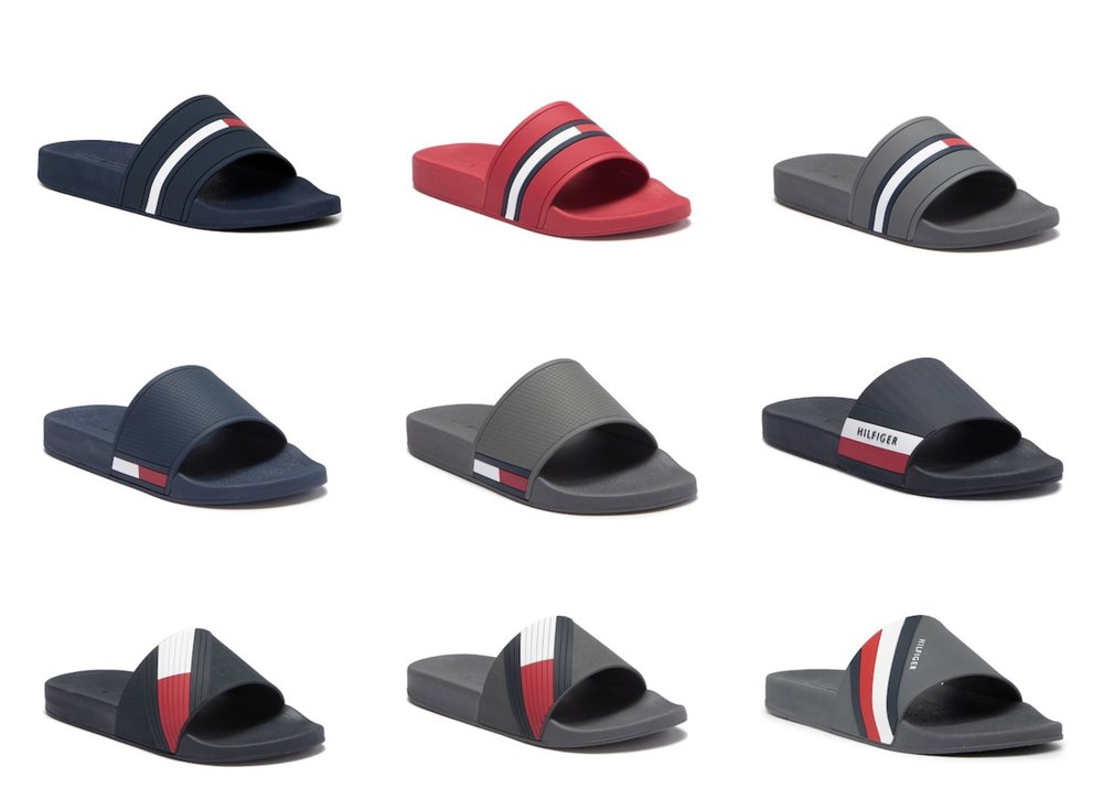 1112fd310b1e On Sale  50% OFF Tommy Hilfiger Slides — Sneaker Shouts