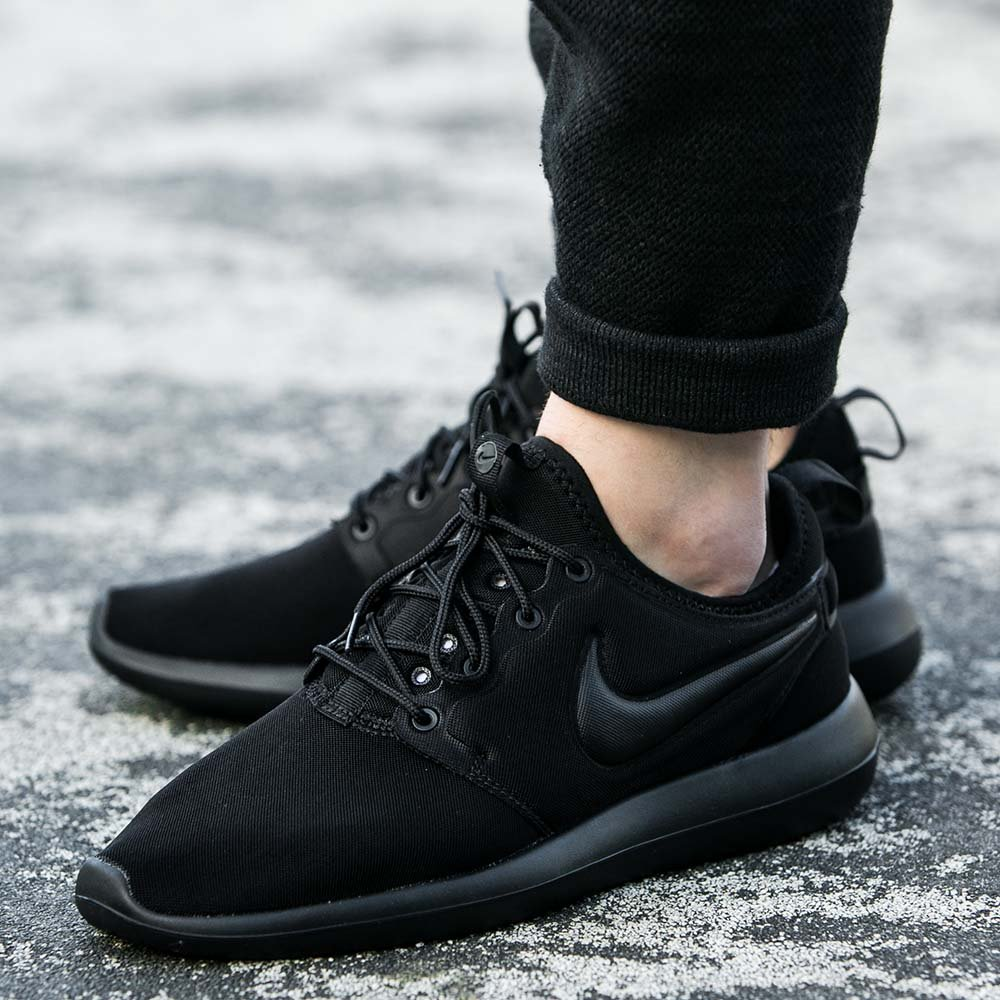 dcc455542b8 ... top quality on sale nike roshe two triple black ec995 a3941