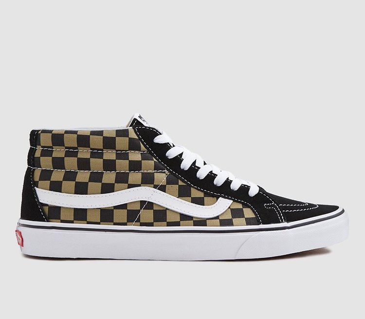On Sale  Vans SK8 Mid Checkerboard