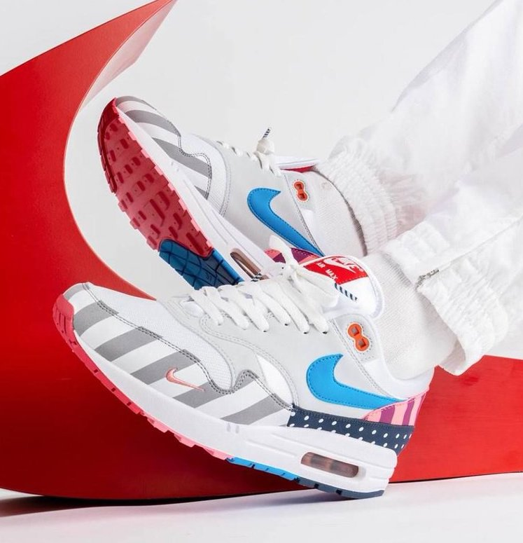 new concept 1442b 1389f Now Available: Parra x Nike Air Max 1
