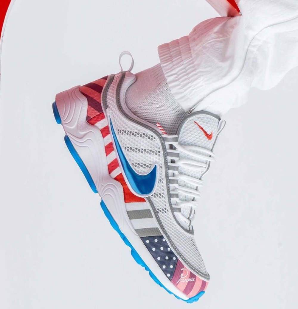 180b770abc5e6 Now Available  Parra x Nike Air Zoom Spiridon — Sneaker Shouts
