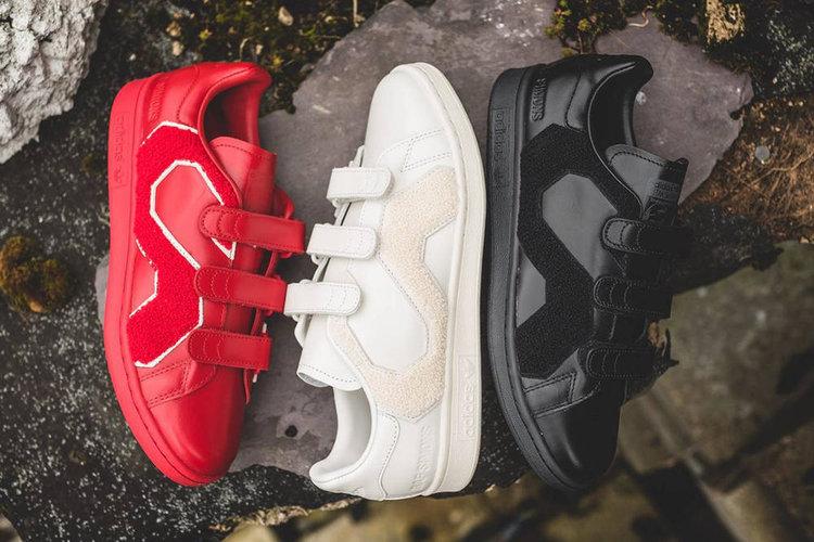 On Sale  Raf Simons x adidas Stan Smith Comfort Badge — Sneaker Shouts 880ec5d9b