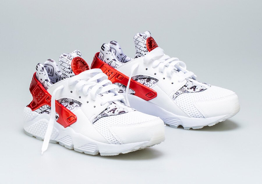 b628f27f478a Now Available  Shoe Palace x Nike Air Huarache
