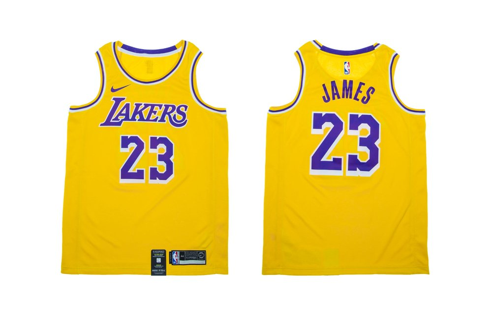 ac84c5a0ecd Now Available  Nike NBA LeBron James Lakers Swingman Jersey ...