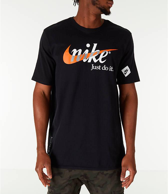 Nike Sportswear Just Do It Tee in Black